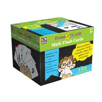 Math Flash Cards Gr Pk-3, CD-734063