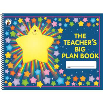 The Teachers Big Plan Book By Carson Dellosa