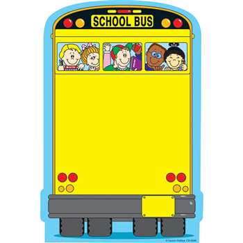 Novel Note School Bus 50 Sheets By Carson Dellosa