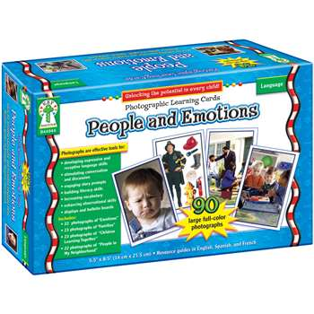 People And Emotions Photo Learning Cards Set By Carson Dellosa