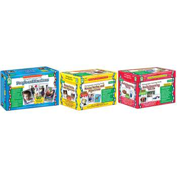 Photographic Learning Cards Classroom Set By Carson Dellosa
