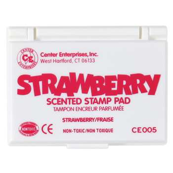 Stamp Pad Scented Strawberry Hot Pink By Center Enterprises