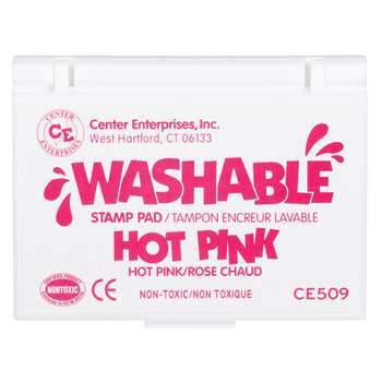 Stamp Pad Washable Hot Pink By Center Enterprises
