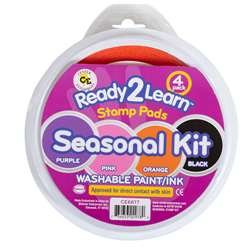 Jumbo Circular Washable Pads Seasonal Kit By Center Enterprises
