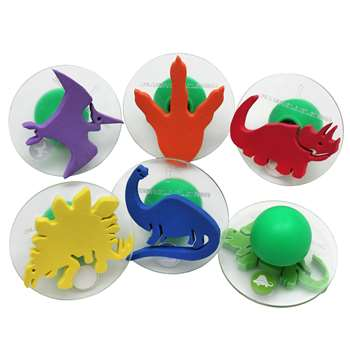 Ready2Learn Giant Dinosaurs Stampers By Center Enterprises