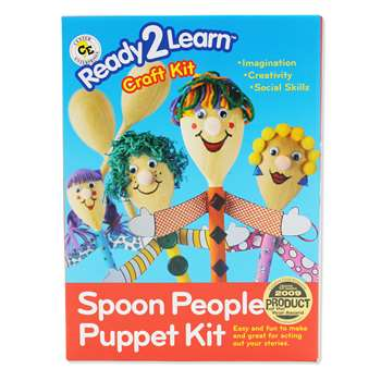 Ready2Learn Craft Kit Spoon People By Center Enterprises