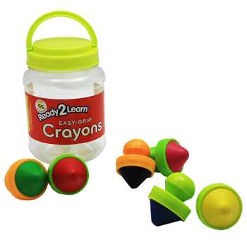 Ready2Learn Easy Grip Crayons, CE-6911