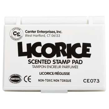 Stamp Pad Scented Licorice Black By Center Enterprises