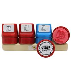 Jumbo Take Note Set Stamp Caddy Spanish By Center Enterprises