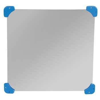 24In Square Mirror Primary By Childrens Factory