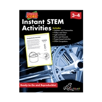 Instant Stem Activities Gr 3-4, CHK13054