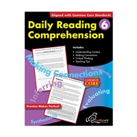 Daily Reading Comprehension Gr 6, CHK14005