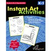 Instant Art Activities Gr K-1 By Chalkboard Publishing