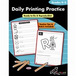 Daily Printing Practice By Chalkboard Publishing