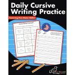 Daily Cursive Writing Practice 2-4, CHK9781771053440