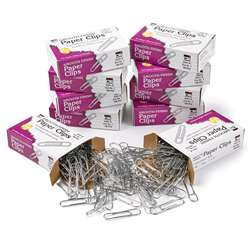 Paper Clips Gem 10 Box 100/Box By Charles Leonard
