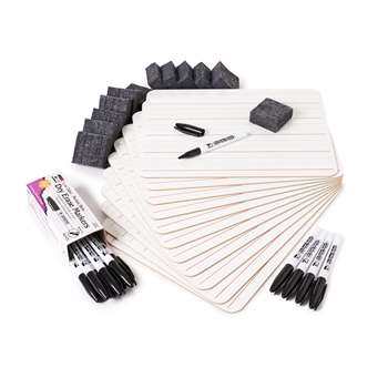 Lap Board Class Pack 2 Sided Plain Lined, CHL35030