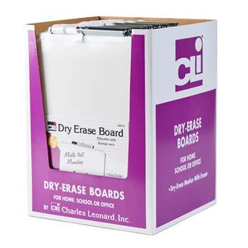 Dry Erase Boards With Frames 12Pk Includes Marker , CHL35210ST