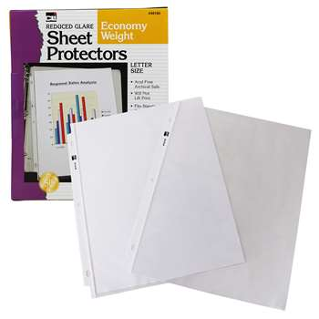 Top Loading Sht Protectors Reduced Glare By Charles Leonard