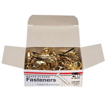 Brass Paper Fasteners 1 100/Box By Charles Leonard