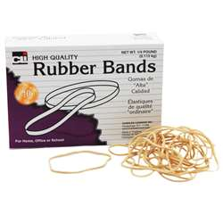 "Rubber Bands 3"" X 1/32"" X 1/16"" - 1/4 Lb Box By Charles Leonard"