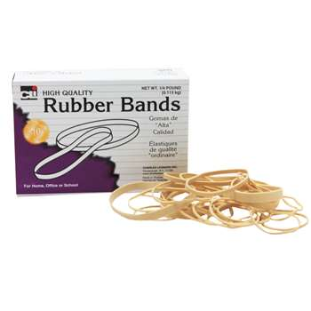 Rubber Bands Assorted Sizes By Charles Leonard