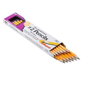 Pencil #2 Lead Pre-Sharpened with Era Yellow 12/Bo, CHL65512
