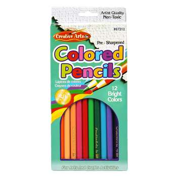 Shop Presharpened 7In Colored Pencils - Chl67512 By Charles Leonard