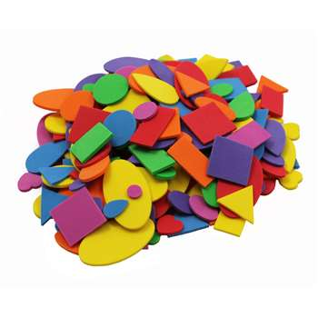 Foam Shapes Asst Colors 720 Pcs, CHL70572