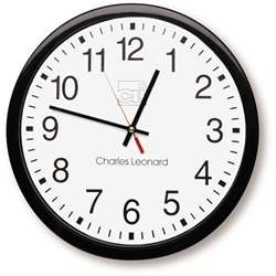 Battery Operated Wall Clock By Charles Leonard