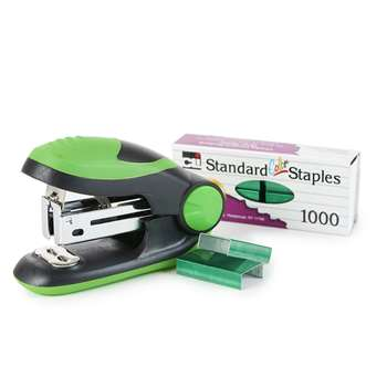 Soft Grip Mini Stapler Kit Green, CHL82225