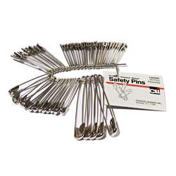 Safety Pins Assorted Sizes 50Pk, CHL83450