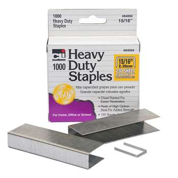 Extra Heavy Duty Staples 15/16, CHL84094