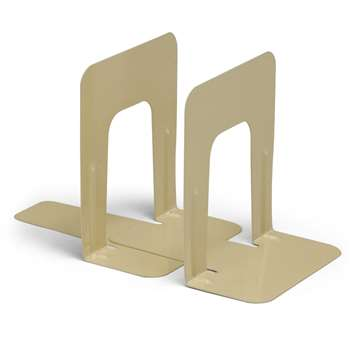 Bookends 1 Pair 9In Height Tan By Charles Leonard