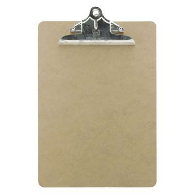 Masonite Clipboards Letter Size 9X12.5 By Charles Leonard