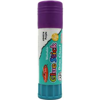 Economy Glue Stick 74Oz Purple By Charles Leonard