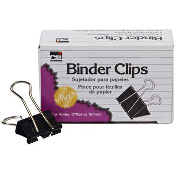 Binder Clips 2 Wide Large 1 Capacity By Charles Leonard