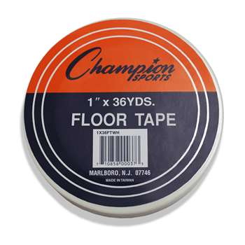 Floor Marking Tape White By Champion Sports