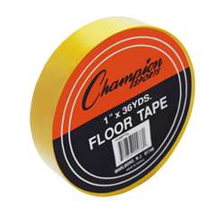 Floor Marking Tape Yellow By Champion Sports