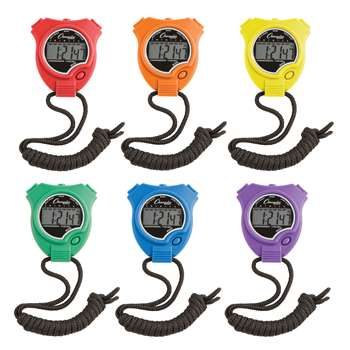 Stop Watch 6Pk By Champion Sports