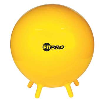 Fitpro Ball Stability Legs Yel 65Cm Gr 5 And Up, CHSBL65