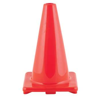 Flexible Vinyl Cone Wghtd 12Inorng, CHSC12OR