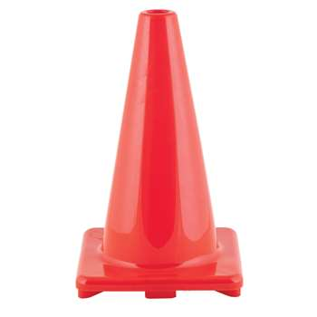 "Flexible Vinyl Cone Wghtd 18"" Orng, CHSC18OR"