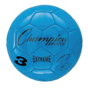Soccer Ball Size3 Composite Blue, CHSEX3BL