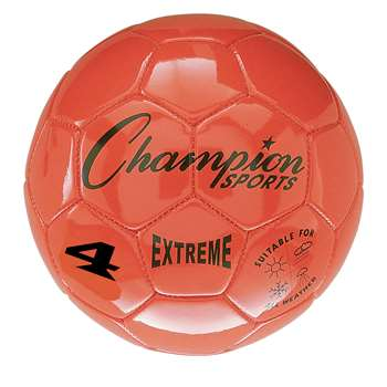 Soccer Ball Size4 Composite Orange, CHSEX4OR