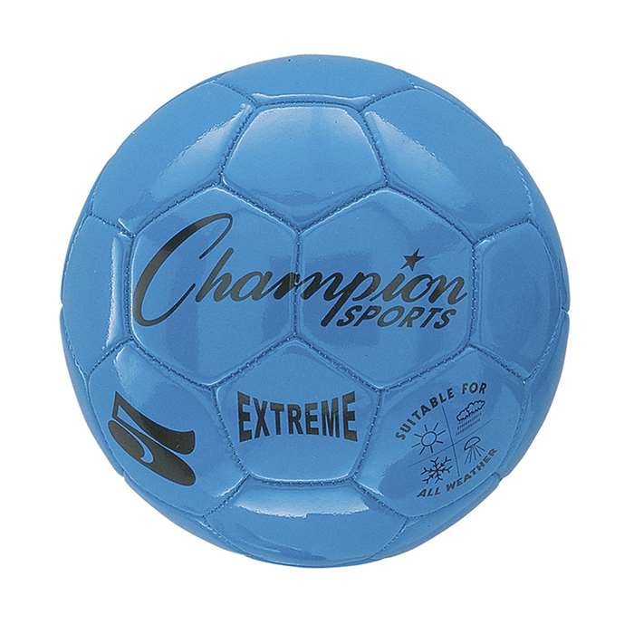 Soccer Ball Size 5 Composite Blue, CHSEX5BL