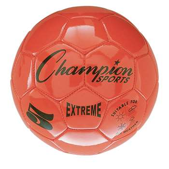 Soccer Ball Size 5 Composite Orange, CHSEX5OR