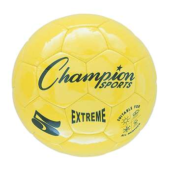 Soccer Ball Size 5 Composite Yellow, CHSEX5YL