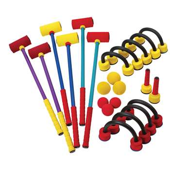 Foam Croquet Set, CHSFCRSET