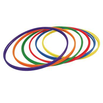 Plastic Hoops 30In 12Pk 2 Each Of 6 Colors By Champion Sports